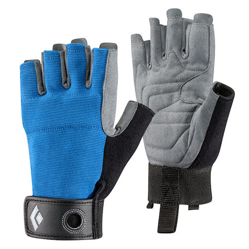 CRAG HALF_FINGER GLOVES (Black Diamond)