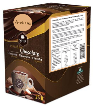 Ship chocolate 25 - AVELLANA