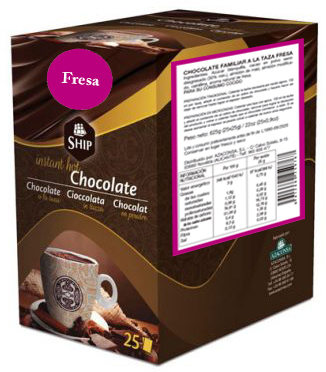 Ship chocolate 25 - Fresa