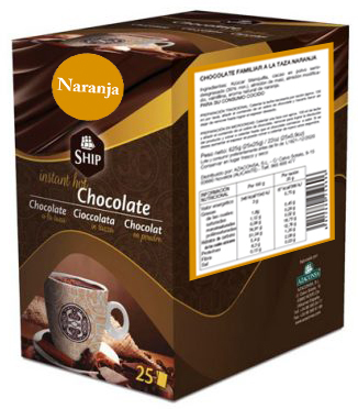 Ship chocolate 25 - Naranja