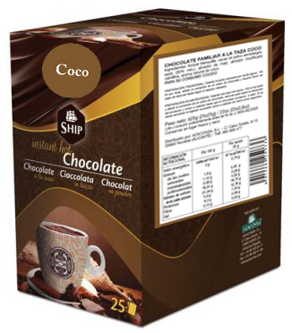 Ship chocolate 25 - Coco