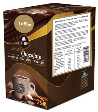 Ship chocolate 25 - Toffee